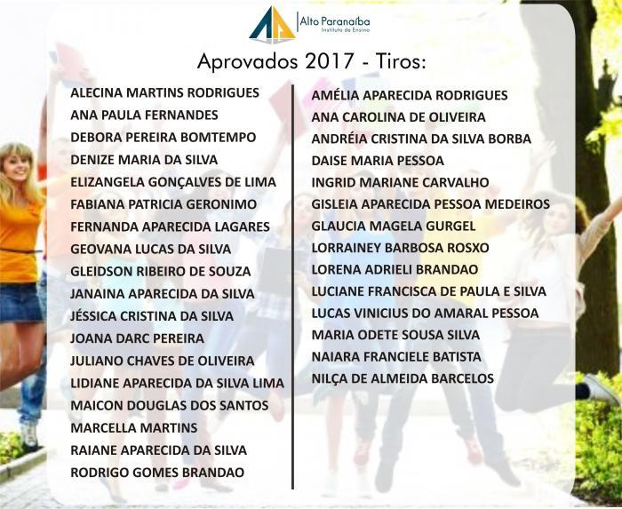 Instituto Alto Paranaíba realiza vestibular na cidade de Tiros e divulga lista de aprovados em Administração e Pedagogia