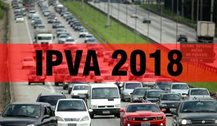 Débitos de veículos com finais de placas de 1 a 5 devem ser regularizados até 30 de junho