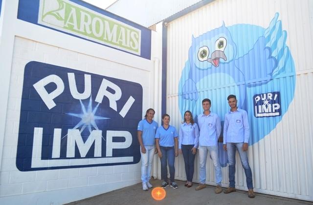 PURILIMP completa 06 anos e consolida no mercado de limpeza e higiene em geral