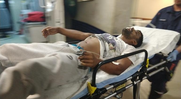Homem de 32 anos é baleado próximo ao Mercado Municipal em Patos de Minas