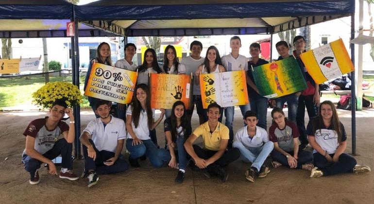 Interact Club de Lagoa Formosa realiza exposições e palestras sobre o Setembro Amarelo