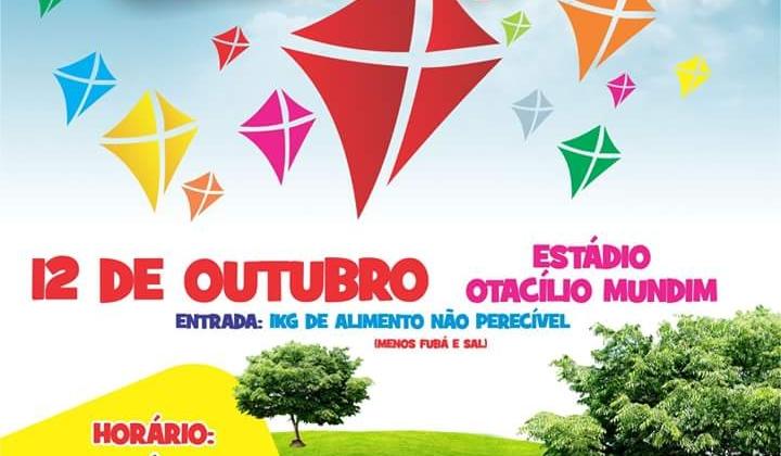 1º Festival de Pipas da cidade de Lagoa Formosa será realizado no estádio Otácílio Mundim