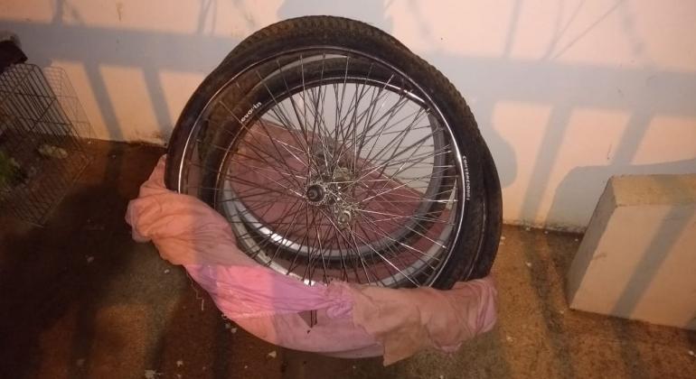 Polícia Militar de Lagoa Formosa apreende bicicletas furtadas embaladas para viagem