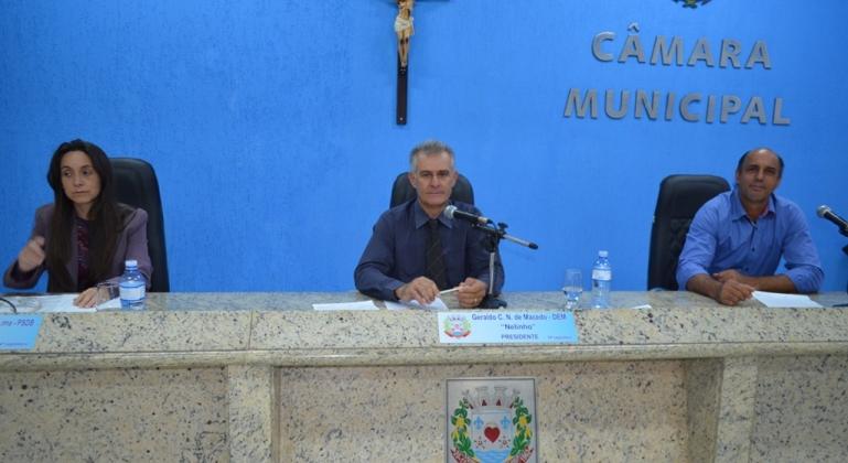 Vereadores de Lagoa Formosa realizam primeira reunião ordinária do mês de novembro