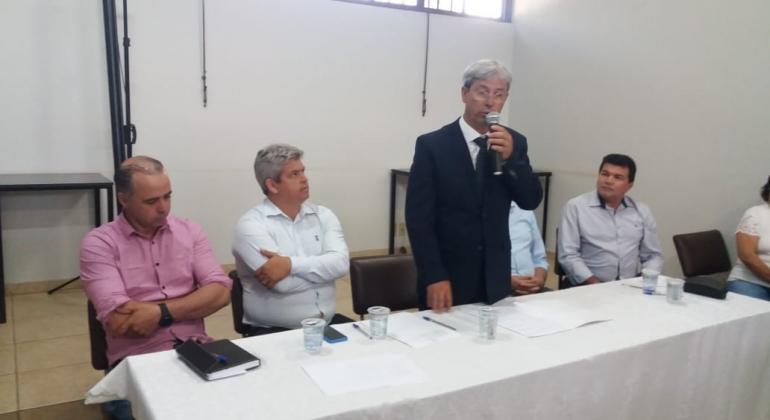 Prefeito de Rio Paranaíba toma posse como presidente da AMAPAR