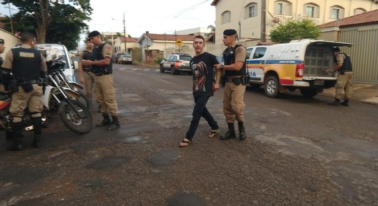 Autor de tentativa de homicídio é preso pela Polícia Militar de Patos de Minas