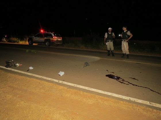 Ciclista é atropelado na estrada dos Soares e morre a caminho do hospital em Carmo do Paranaíba