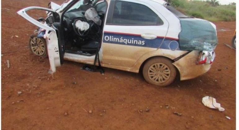 Duas pessoas ficam feridas em acidente na BR-354 no município de Rio Paranaíba