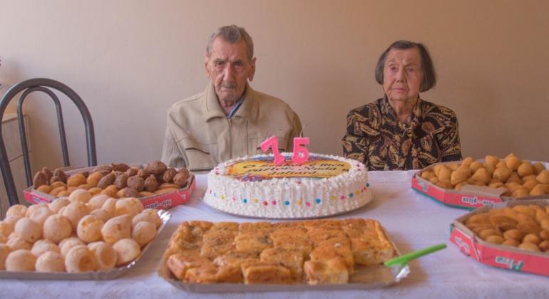 Casal de Presidente Olegário resiste à prova do tempo e celebra 75 anos de casamento
