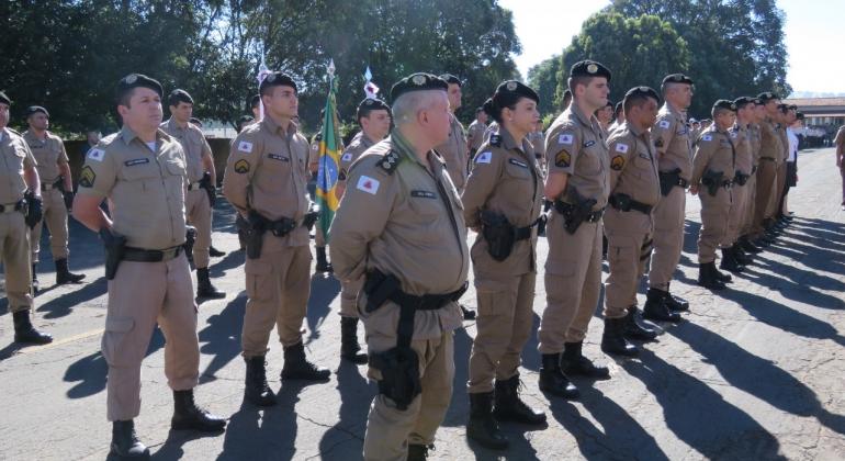 244 anos: Polícia Militar comemora o aniversário da PMMG, da 10ª RPM e o dia dos veteranos