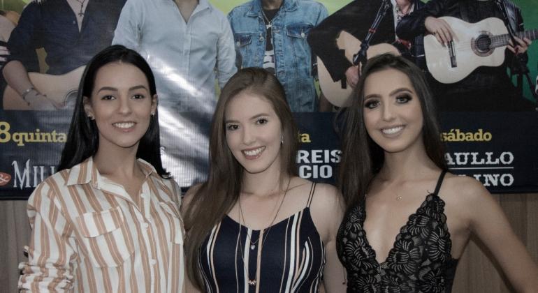 Candidatas à rainha da Festa da Produção 2019 são apresentadas