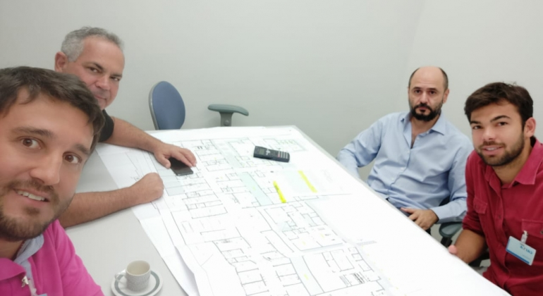 Prefeitura de Lagoa Formosa entrega projeto final para dar início à licitação de construção do novo Hospital Municipal