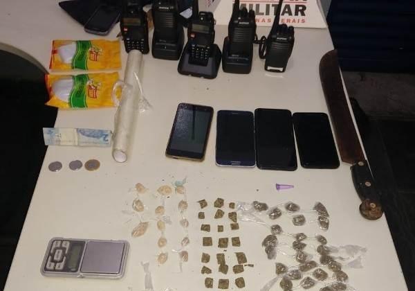 PM localiza grande quantidade de droga e cinco pessoas são detidas em Guarda dos Ferreiros