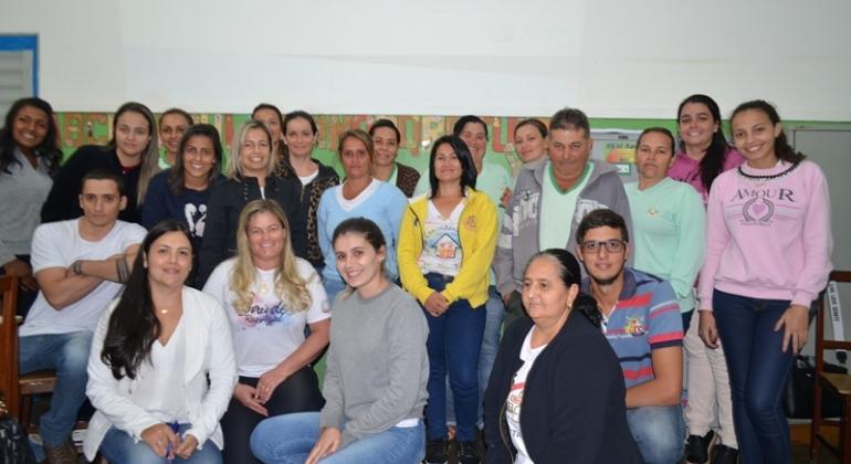 Agentes de saúde de Lagoa Formosa participam de curso de qualificação