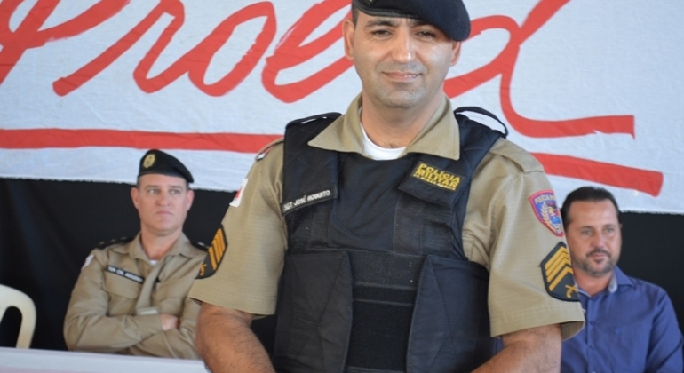 Aposentadoria: Sargento da PM de Lagoa Formosa recebe homenagens pelos serviços prestados durante a carreira militar