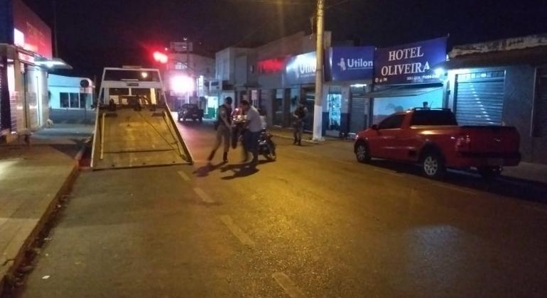 Motocicleta usada por suspeito de matar irmão em Carmo do Paranaíba é localizada e apreendida