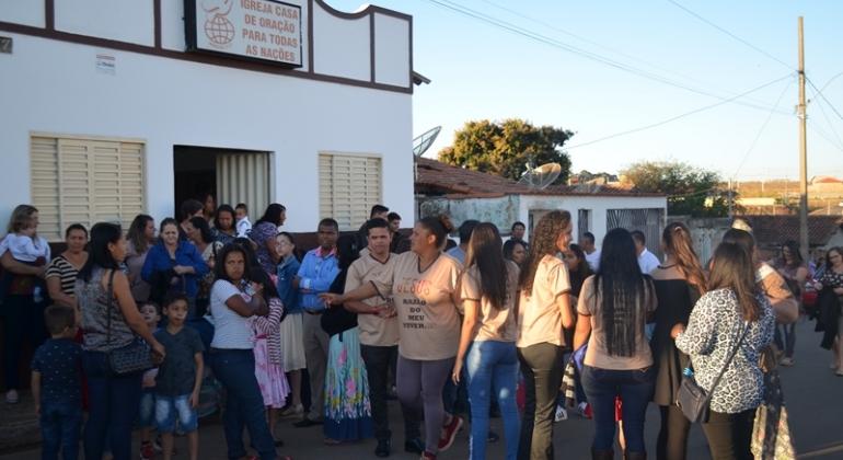 Igreja Casa de Oração realiza Caminhada para Jesus na cidade de Lagoa Formosa