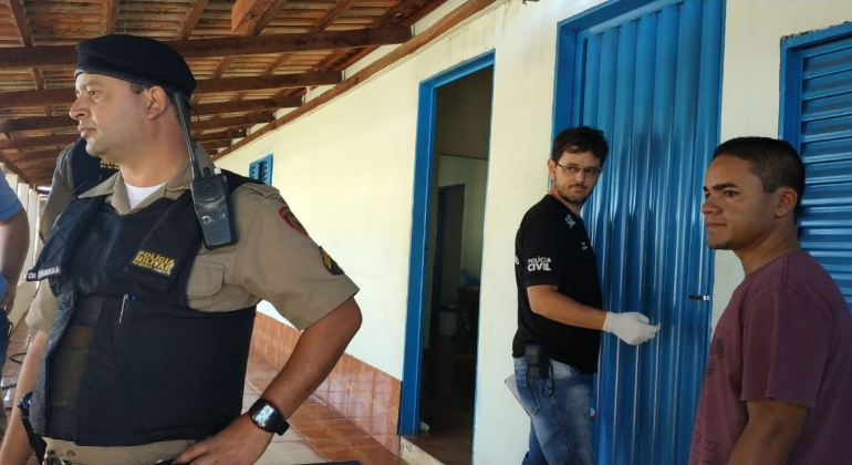 Idoso de 72 anos é morto a pauladas no Bairro Santa Rita em Presidente Olegário