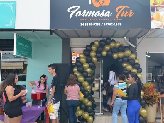 Inaugurada em Lagoa Formosa a primeira Agência de Viagens e Turismo da cidade