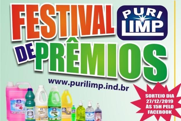 Purilimp realiza Festival de Prêmios e presenteia consumidores com vários brindes