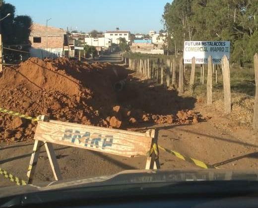 Prefeitura de Rio Paranaíba invade propriedade particular em Guarda dos Ferreiros