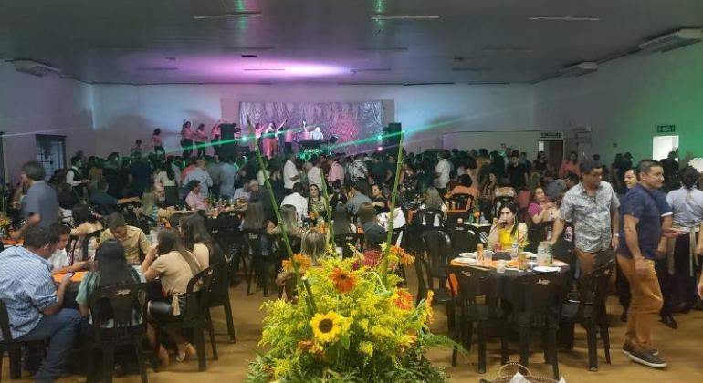 """Casa da Amizade de Lagoa Formosa realiza nova edição da noite dançante """"Comida de Buteco"""""""