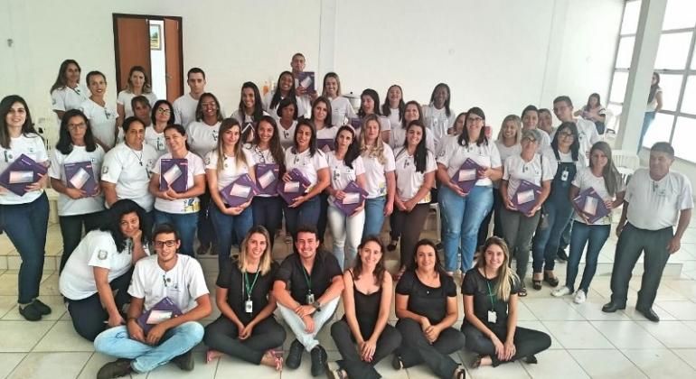 Secretaria de Saúde de Lagoa Formosa realiza curso com servidores para capacitação profissional