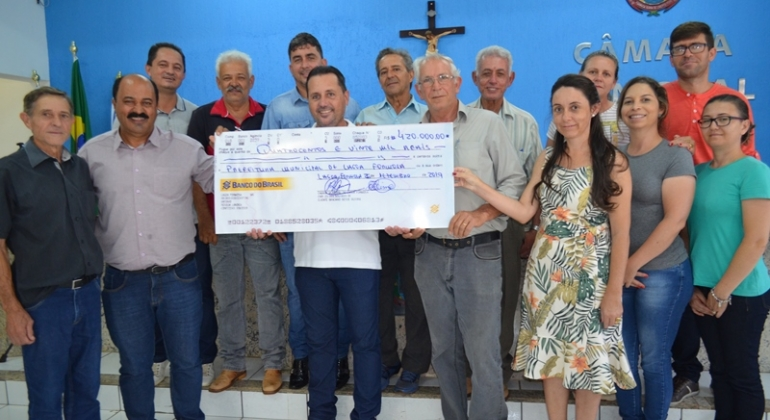 Câmara Municipal de Lagoa Formosa devolve R$420.000,00 para a prefeitura