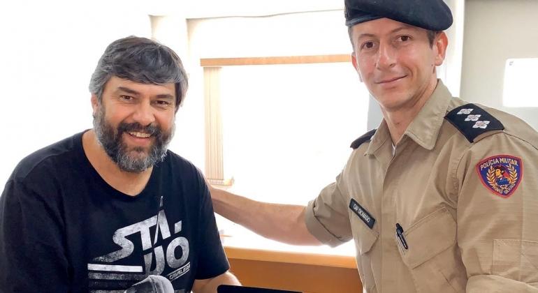 Capitão Diomásio deixa o comando da Polícia Militar de Carmo do Paranaíba e vai para Monte Carmelo