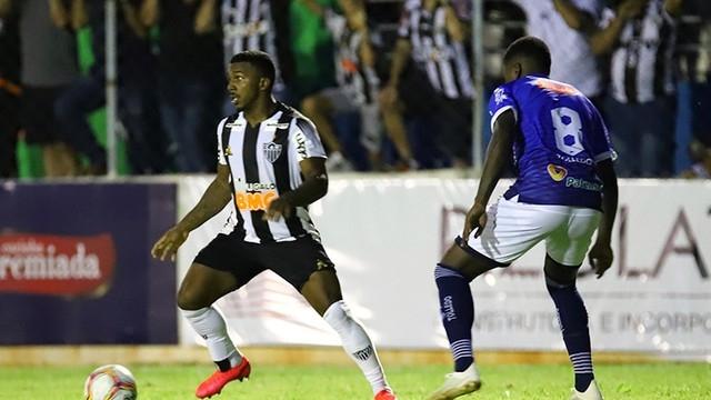 Com gol legítimo anulado URT perde para o Atlético Mineiro em Patos de Minas