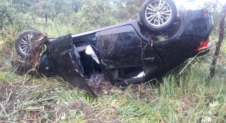 Prefeito da cidade de Lagoa Grande sofre acidente automobilístico na BR-040