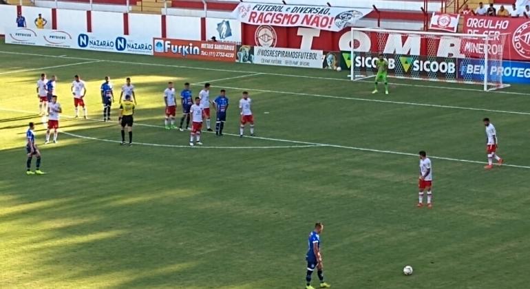 Irreconhecível em campo URT é derrotada por 4 a 0 em Tombos pelo Campeonato Mineiro
