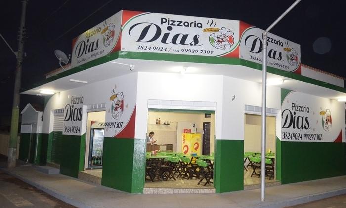 Pizzaria Dias Lagoa Formosa volta a atender seus clientes no próprio ambiente