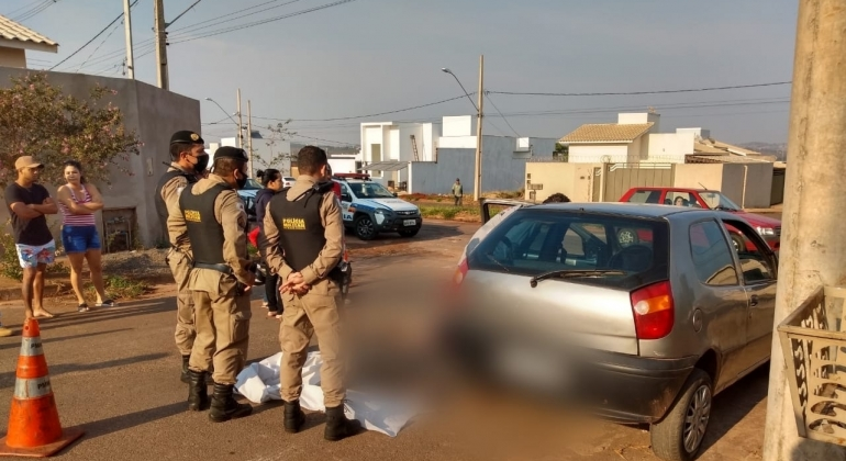 Rapaz de 25 anos é morto a tiros no Bairro Barreiro em Patos de Minas