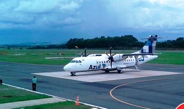 Aeroporto municipal de Patos de Minas é vistoriado pela Azul e empresa pode retomar voos na cidade