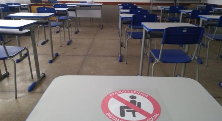 Escolas municipais de Lagoa Formosa adotam inúmeras medidas para a volta às aulas a partir desta segunda (03/05)