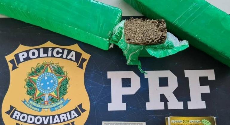 PRF prende homem de 20 anos com drogas e munições