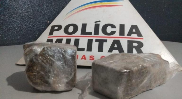 Homem de 23 anos é encaminhado para delegacia por suspeita de tráfico de drogas em Patos de Minas