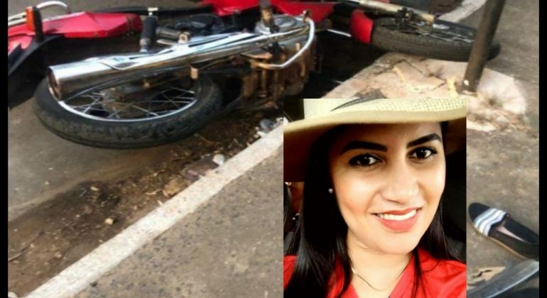 Morre no hospital, frentista que ficou gravemente ferida em acidente envolvendo motocicleta em Patos de Minas