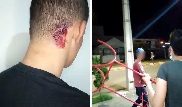Várias pessoas são levadas para a delegacia após agressões na cidade de Patos de Minas